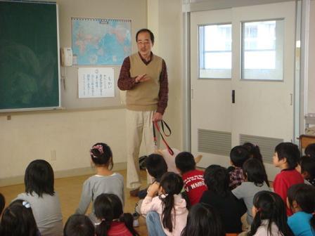 小学校で動物の話を_f0064906_17201732.jpg