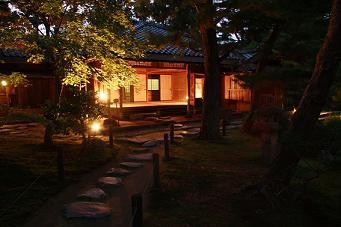 清水園の秋祭り☆夜のライトアップ_e0135219_11395536.jpg
