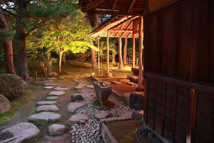 清水園の秋祭り☆夜のライトアップ_e0135219_11413016.jpg