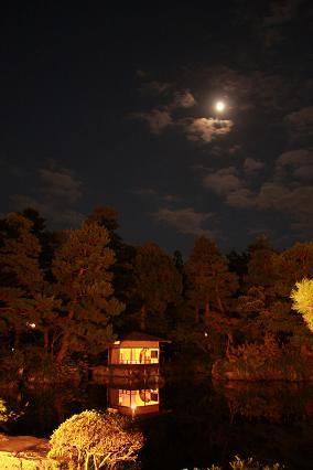 清水園の秋祭り☆夜のライトアップ_e0135219_1143364.jpg