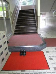 レッドカーペットと階段_b0205965_1534087.jpg