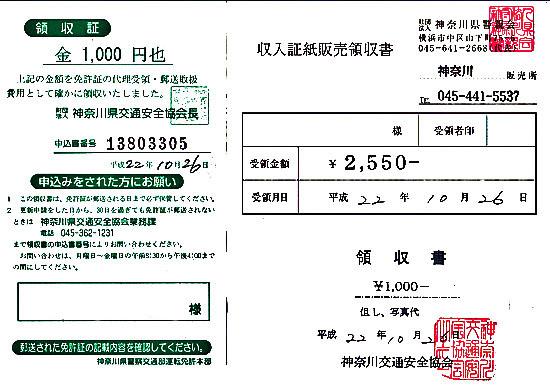 自転車の 自動車運転免許証更新期間 : 2010年10月 : CITROEN DS 23 の整備と ...