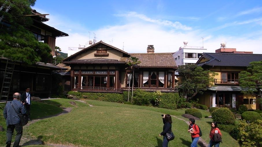 熱海近代別荘建築探訪・旧日向別邸など_b0061387_9181939.jpg