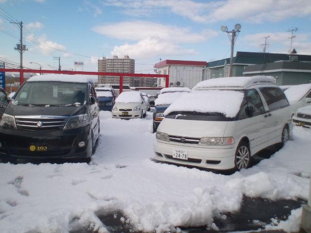 店長のニコニコブログ!久しぶりの雪かきからスタート!_b0127002_2159875.jpg