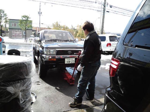 店長のニコニコブログ!久しぶりの雪かきからスタート!_b0127002_22583.jpg