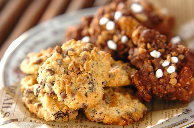 アメリカンタイプのドロップクッキー_a0115906_18131925.jpg
