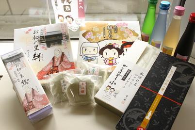 お江のお土産が大集合!!_f0229508_1520687.jpg