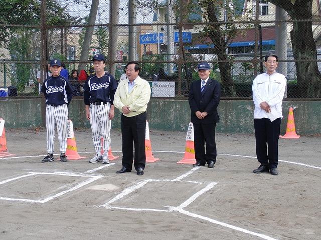 富士市議会野球部vs吉原一中野球部_f0141310_23354314.jpg