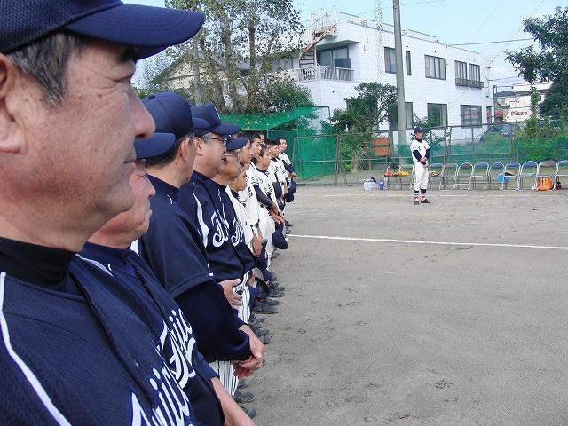 富士市議会野球部vs吉原一中野球部_f0141310_23355933.jpg