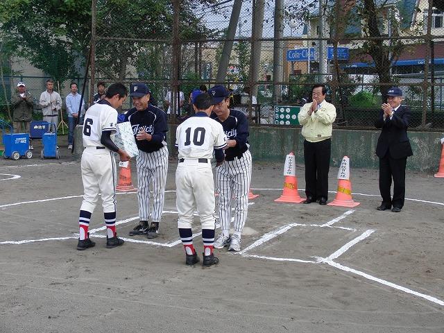 富士市議会野球部vs吉原一中野球部_f0141310_23361250.jpg