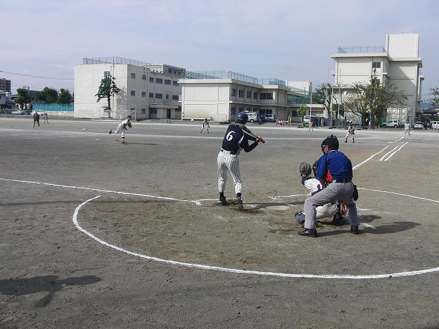 富士市議会野球部vs吉原一中野球部_f0141310_23364313.jpg