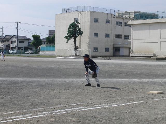 富士市議会野球部vs吉原一中野球部_f0141310_23365813.jpg