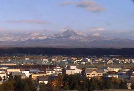 2010年10月27日(水):初冠雪!_e0062415_17101839.jpg