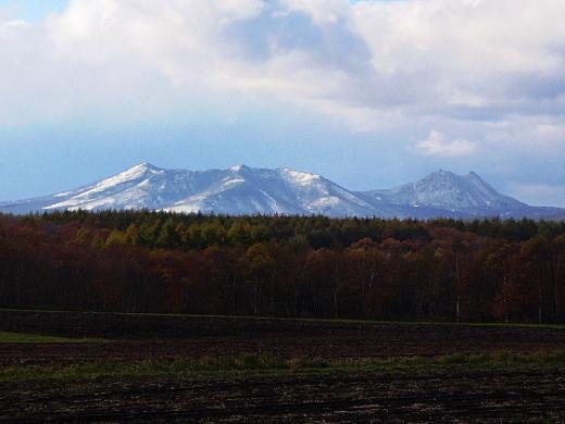 2010年10月27日(水):初冠雪!_e0062415_1711450.jpg