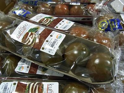 茶色いトマト