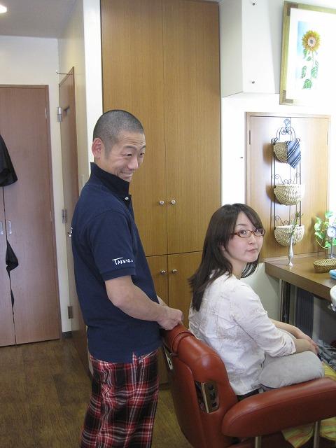 おとぼけな弟と真理子さん・・・_f0202703_22372175.jpg