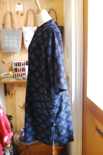 着物リメイク・ラッパ袖のチュニック_d0127925_140887.jpg