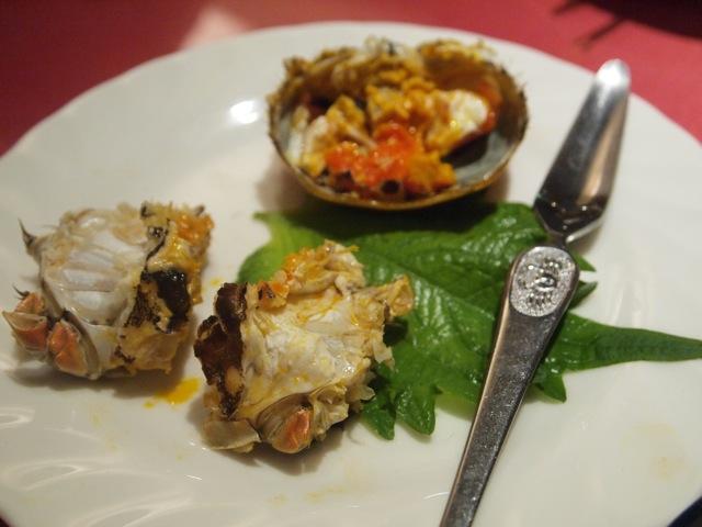 上海蟹を食べ比べ_b0166144_1621812.jpg