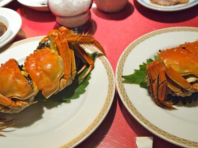 上海蟹を食べ比べ_b0166144_1631068.jpg