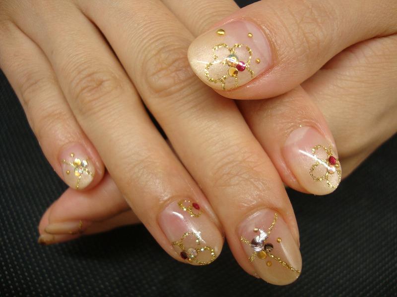 ゴールド×お花  …平山_a0144648_2004577.jpg
