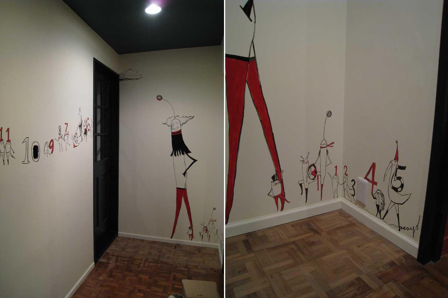 邸エントランス壁画_f0235453_149377.jpg