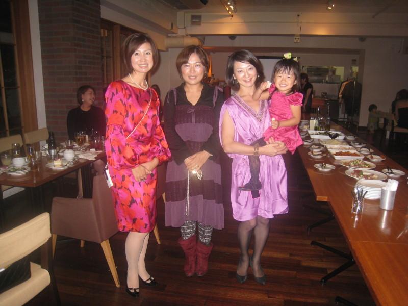 大阪のジョイセフフレンズによる、Mom\'s Night Out パーティ!_c0212972_2321155.jpg