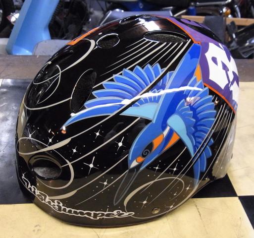 三村君のヘルメット。2個目_c0223486_0125681.jpg