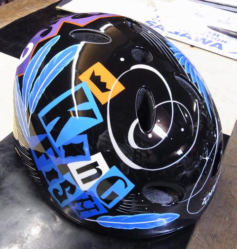 三村君のヘルメット。2個目_c0223486_013107.jpg