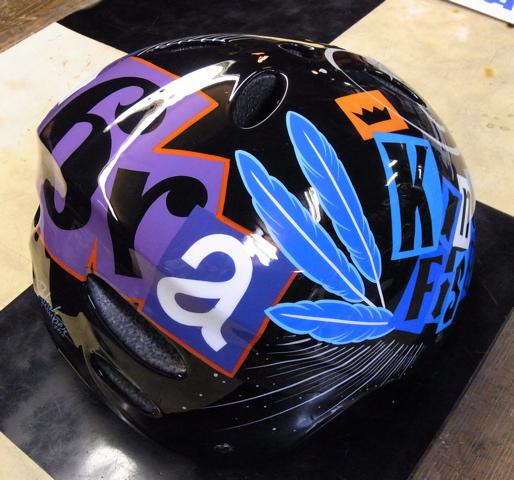 三村君のヘルメット。2個目_c0223486_0132261.jpg