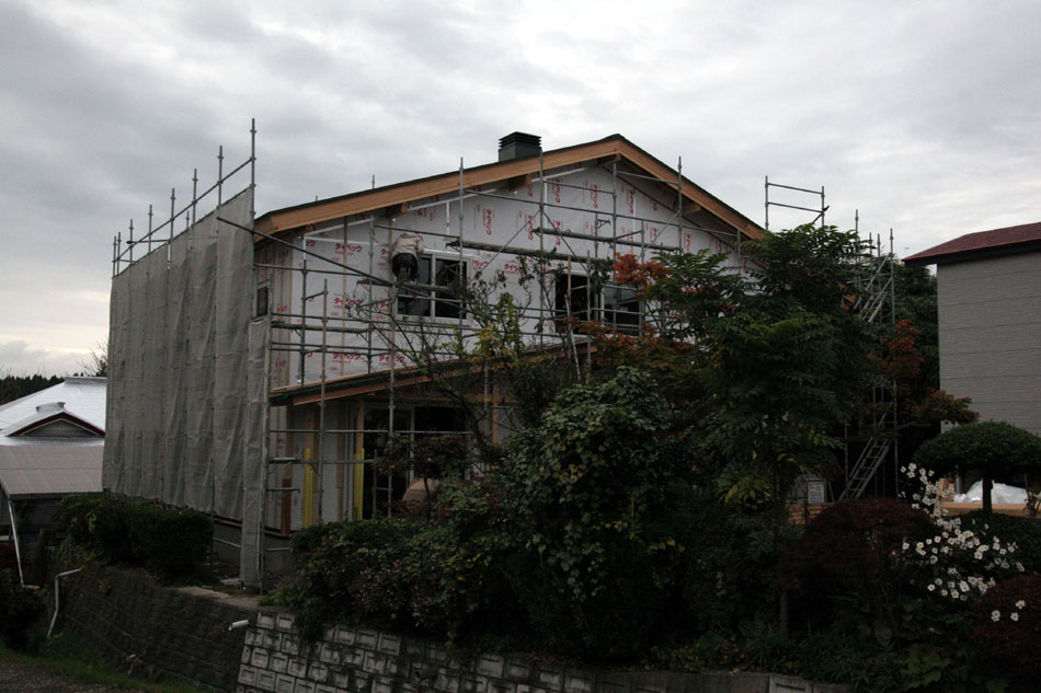 「外岡羽立の家」 工事中です。_f0150893_205342.jpg