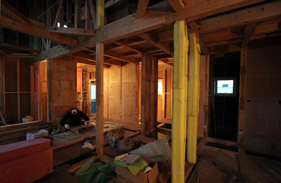 「外岡羽立の家」 工事中です。_f0150893_2064960.jpg