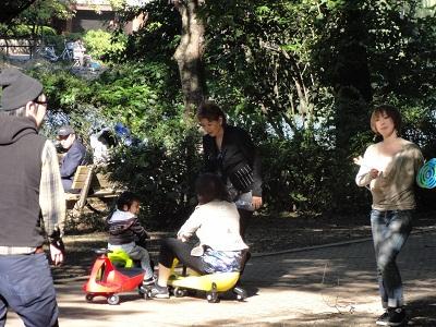 石神井公園でラングス商品で遊ぶ_d0148223_1416546.jpg