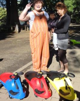 石神井公園でラングス商品で遊ぶ_d0148223_16321329.jpg