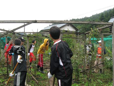 福井市成和中学校1年生の今立班_e0061225_19164154.jpg