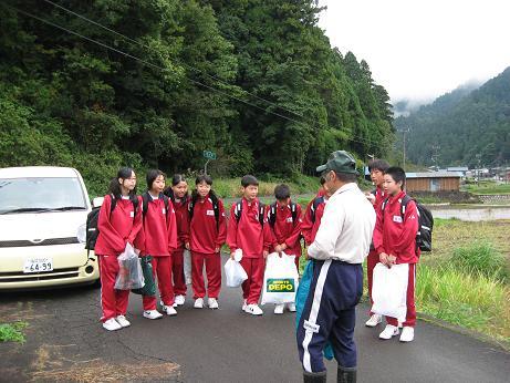 福井市成和中学校1年生の今立班_e0061225_1930316.jpg