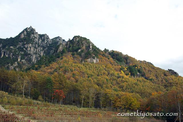 川上村と瑞牆山の紅葉_b0179231_23101385.jpg