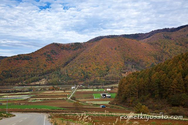 川上村と瑞牆山の紅葉_b0179231_23101674.jpg