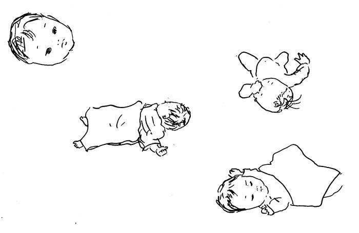 今月の赤ちゃんスケッチ_f0072976_0233155.jpg