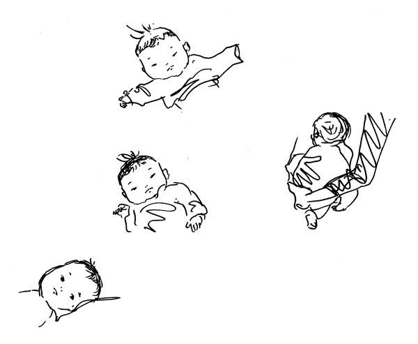 今月の赤ちゃんスケッチ_f0072976_0234318.jpg
