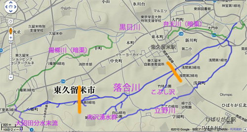落合川を辿る(3)緑溢れる中流域_c0163001_2305717.jpg