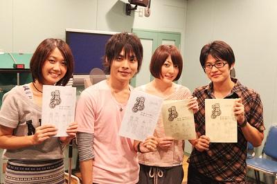 「OVA眼鏡なカノジョ」アフレコレポート _e0025035_1818492.jpg