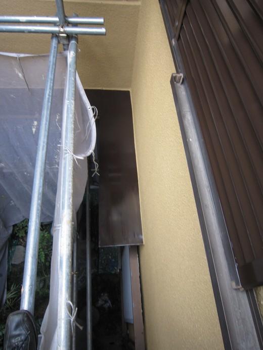 10月29日 庇、樋、雨戸塗装_c0103137_9402519.jpg
