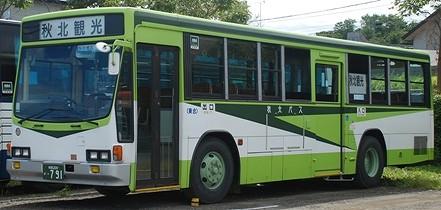 秋北バス いすゞU-LV324M +アイケー_e0030537_1403643.jpg