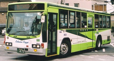 秋北バス いすゞU-LV324M +アイケー_e0030537_1561331.jpg