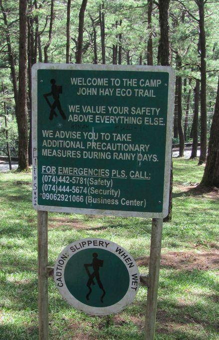 身近にあるハイキング・コース Eco Trail in Camp John Hay_a0109542_2091662.jpg