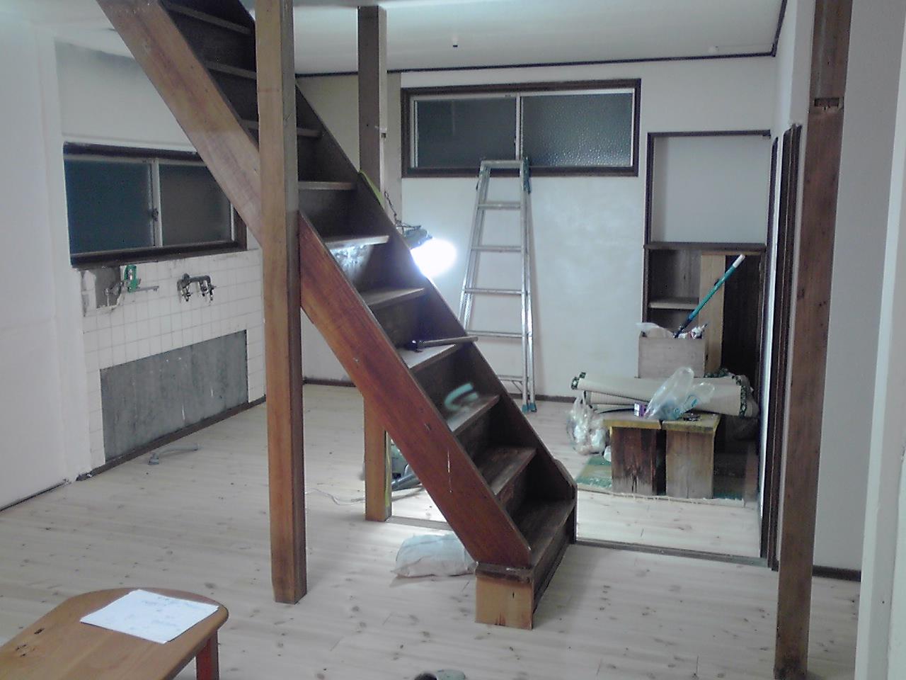 改装中のスタジオ_e0155231_2312298.jpg