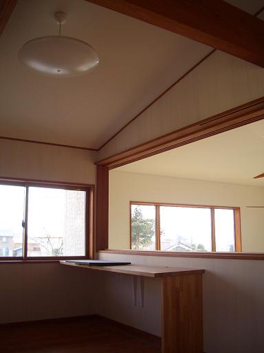 住宅設計 ~ リビングルームにつながる子供部屋 ~ _b0146238_15585513.jpg