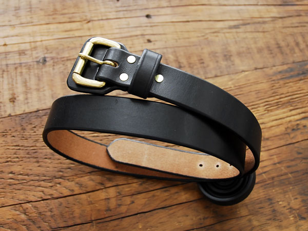 BRASS BUCKLE LEATHER BELTS_c0146807_11304756.jpg