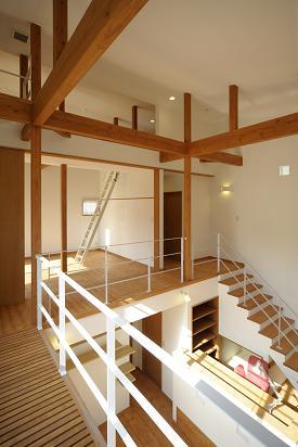 住宅設計 ~ リビング イン 階段 ~ _b0146238_17403364.jpg