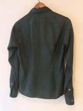 深いグリーンのメンズシャツ (フルオーダー)_b0199696_1339188.jpg